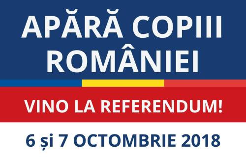 Referendum in doua zile